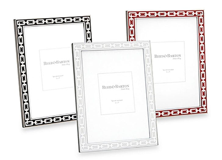 Reed and Barton Colored Enamel Picture Frame gift idea for grandparents