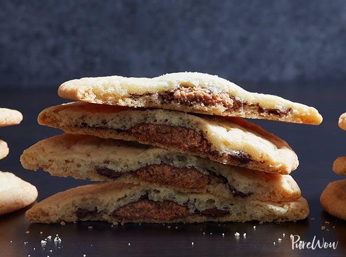 Reese s Peanut Butter Stuffed Sugar Cookies recipe