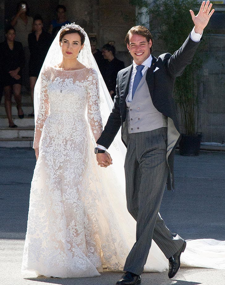 Religious Wedding Of Prince Felix Of Luxembourg and Claire Lademacher