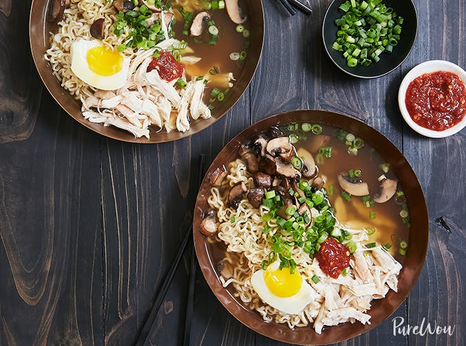 Rotisserie Chicken Ramen big batch recipes