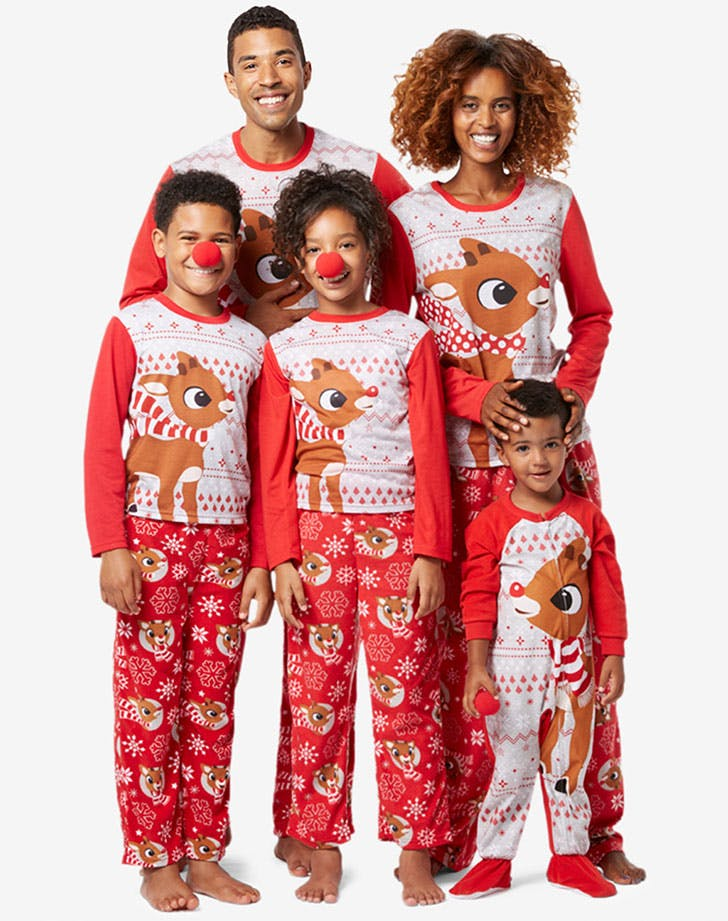 Rudolph Matching Family Pajama Sets