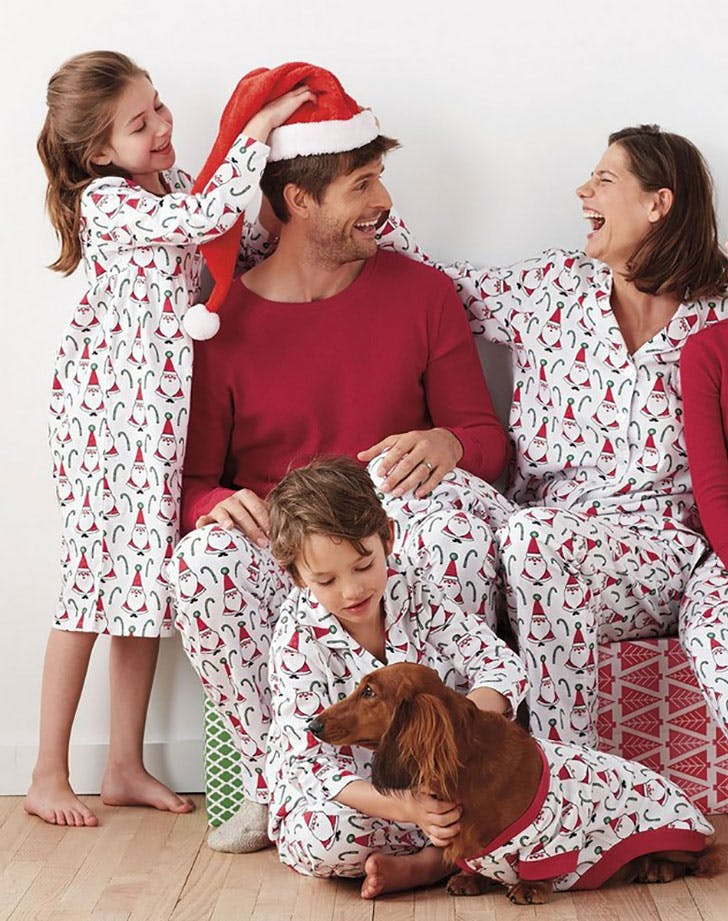 Santa Matching Family Pajamas