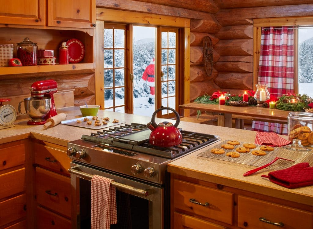 Santa Clause Zillow Listing Kitchen