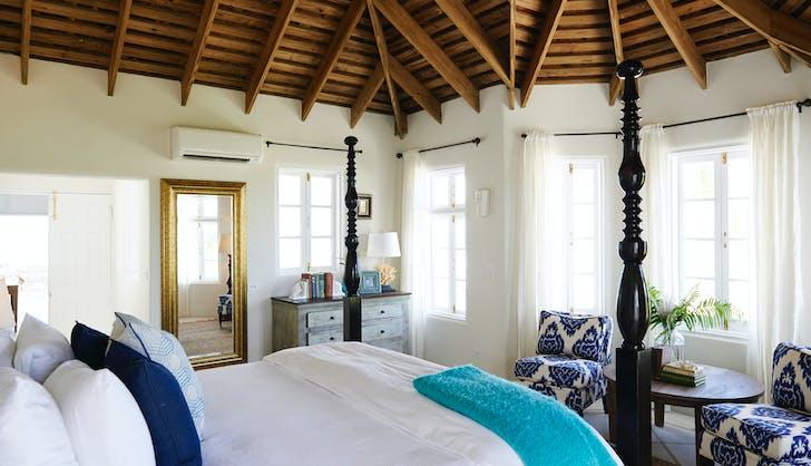Serena Williams Alexis Ohanian Honeymoon Bedroom 2