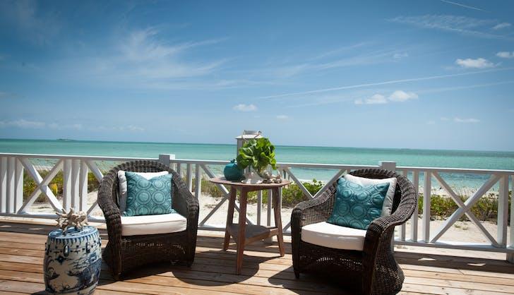 Serena Williams Alexis Ohanian Honeymoon Kamalame Cay Terrace 2