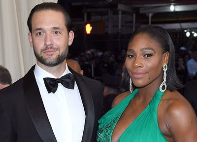 Serena Williams Alexis Ohanian married new orleans