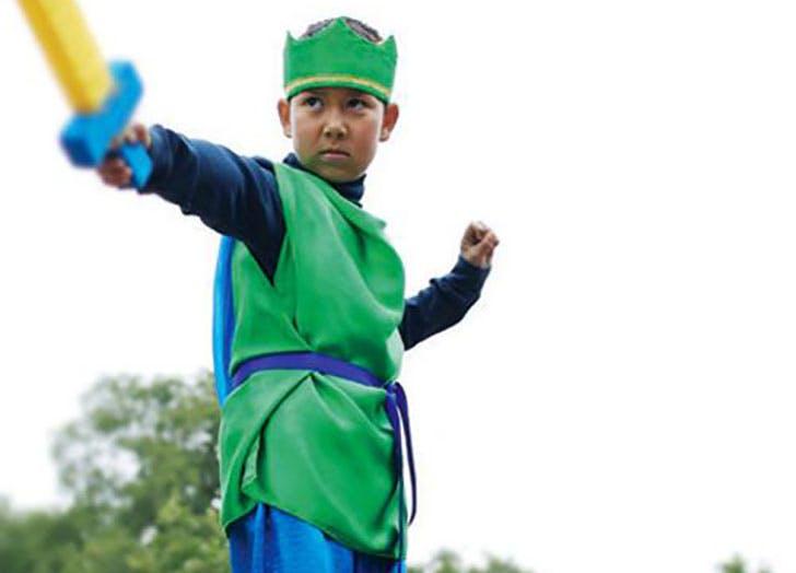 Silk Knight Costume from Imagine Childhood