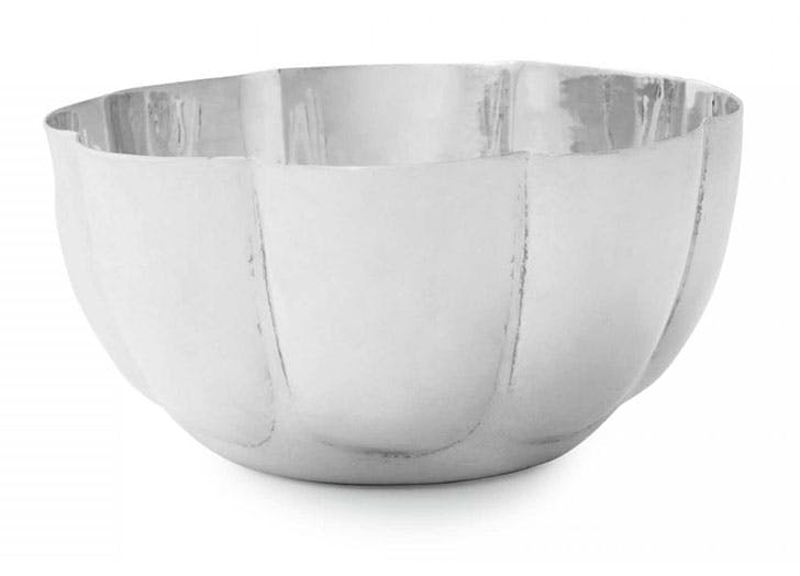 Silver Scalloped Bowl gift idea for grandparents