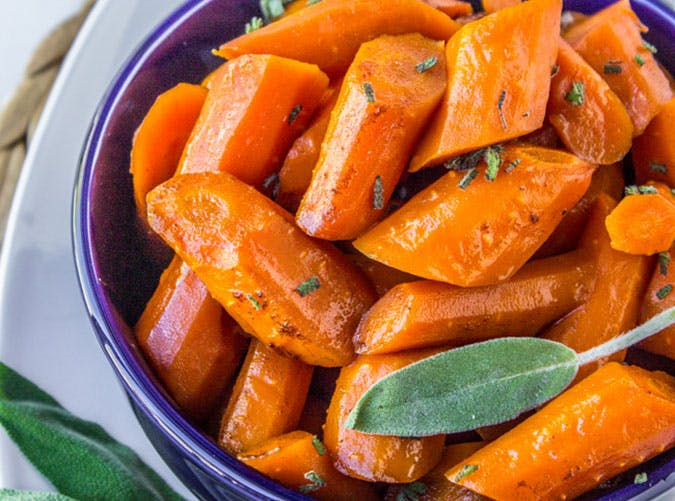 Slow Cooker Brown Butter Carrots