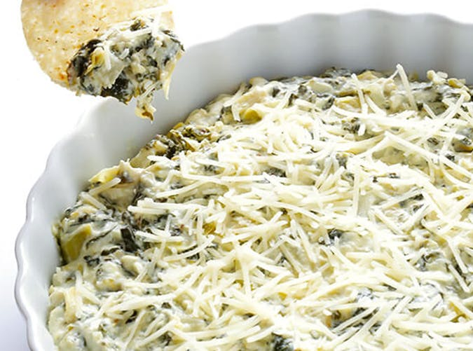 Slow Cooker Spinach Artichoke Dip ketogenic slow cooker recipes