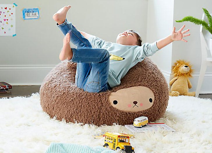 Small Bijou Kitty Bear Bean Bag Chair From Land Of Nod