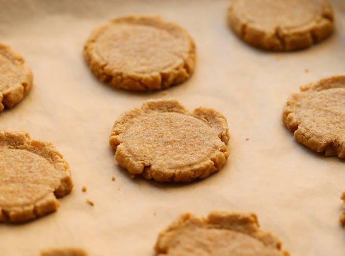 Soft Glazed Pumpkin Sugar Cookies recipe