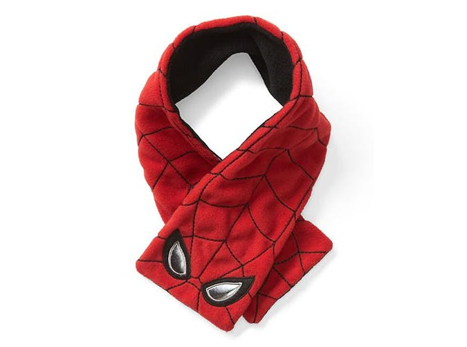 Spider Man Pro Fleece Scarf gifts for kids under 25 dollars