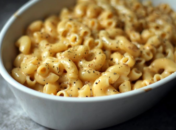 Stovetop Mac and Cheese 15 minute pasta recipe