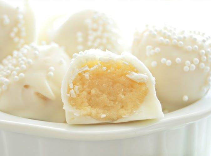 Sugar Cookie Dough Truffles recipe