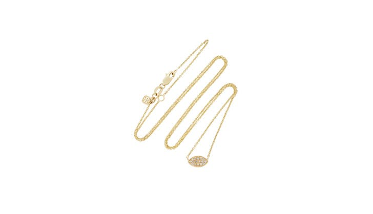 Sydney Evan Gold Diamond Necklace