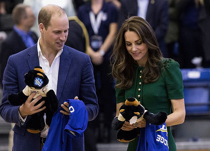 The Duke And Duchess Of Cambridge receive gifts on Canada tour1
