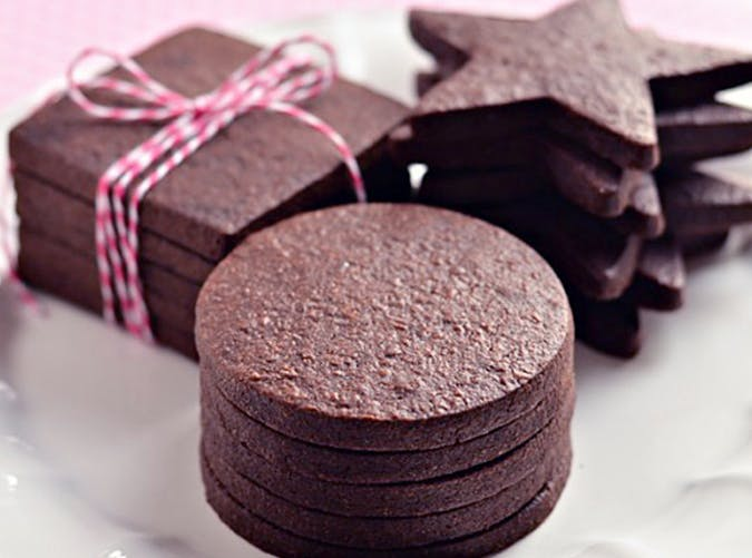 The Perfect Dark Chocolate Sugar Cookie recipe