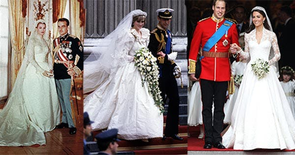 The 14 best royal wedding dresses of all time purewow junglespirit Images