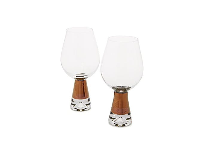 Tom Dixon Copper Wine Glasses