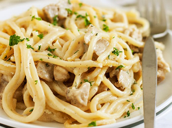 Turkey Tetrazzini big batch recipes