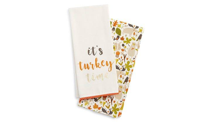 Turkey Time Dish Towels