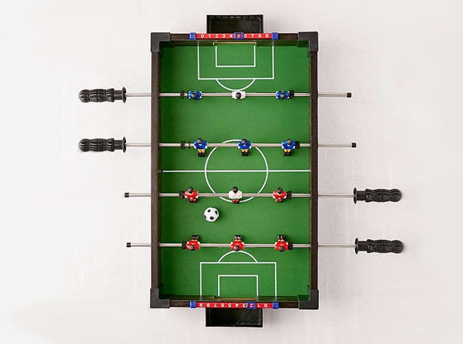 Urban Outfitters Foosball tabletop