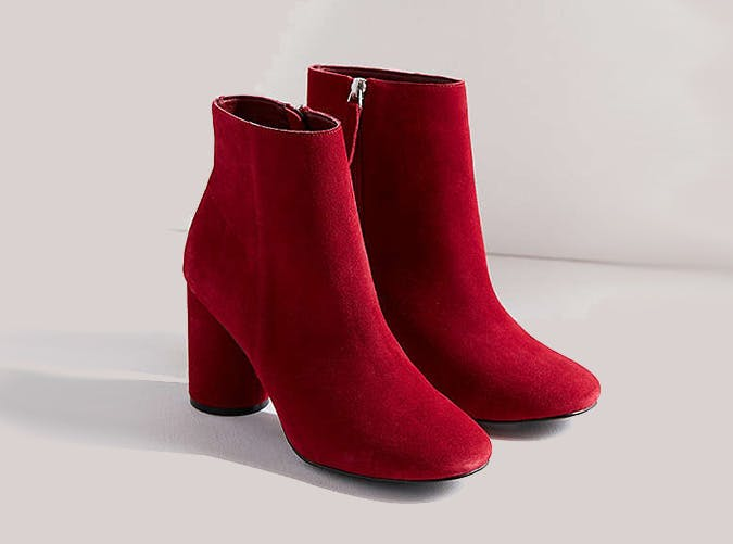 Urban Outfitters Red Booties