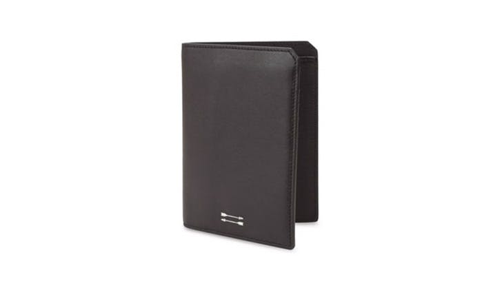 Uri Minkoff Leather Passport Wallet