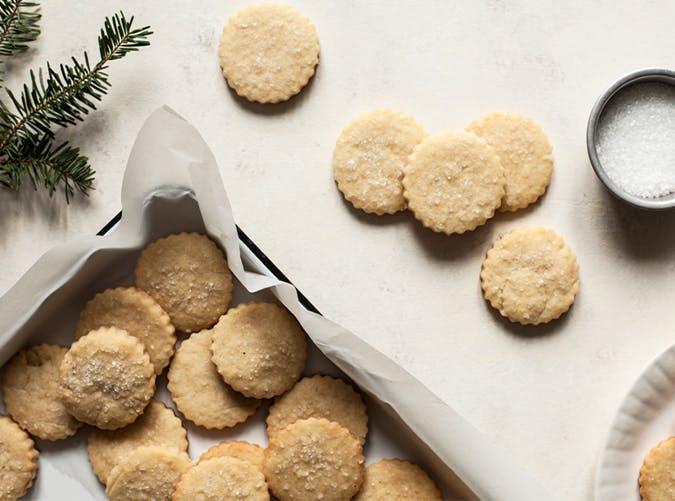 Vegan Vanilla Almond Sugar Cookies recipe