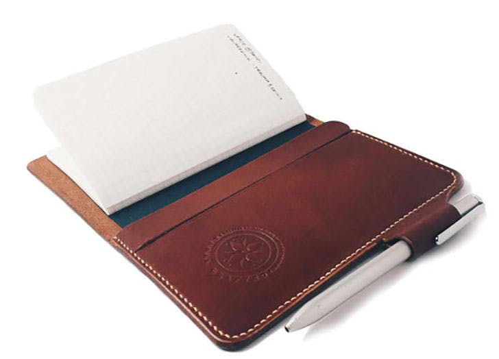 Vegetable Tanned Leather Notebook