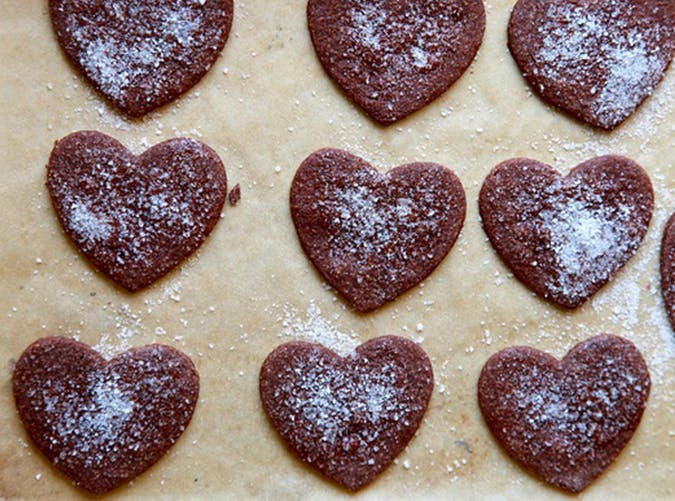 Whole Wheat Chocolate Brown Sugar Sugar Cookies recipe