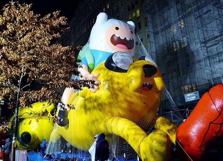 adventure time thanksgiving balloon NY
