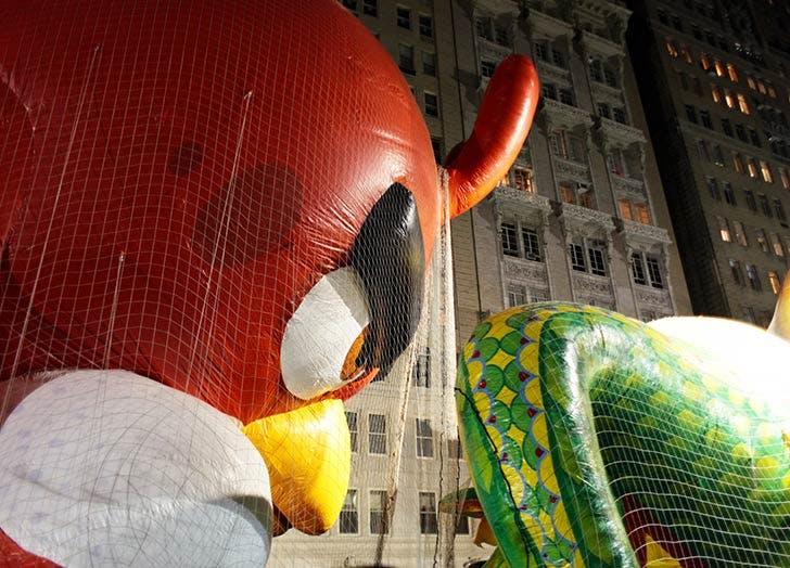 angry birds thanksgiving balloon NY