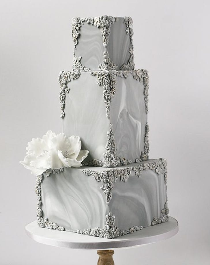 bas relief cakes wedding trend 2