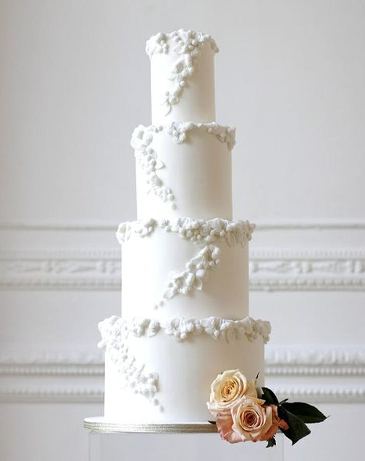 bas relief cakes wedding trend 5