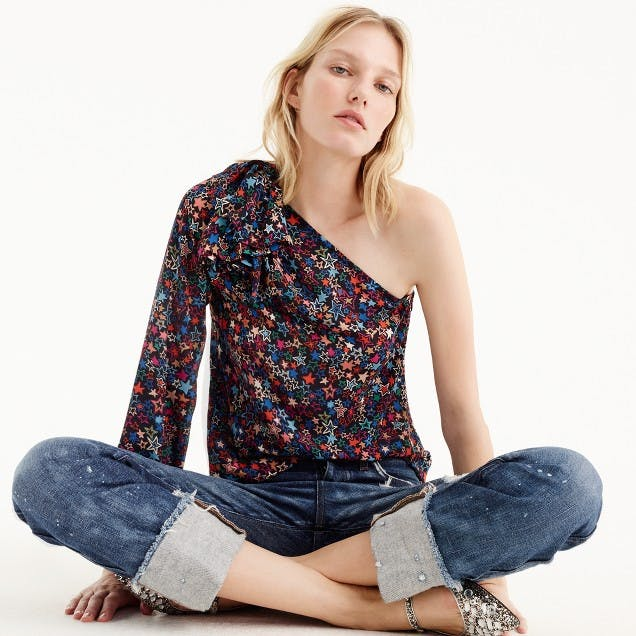 best things to buy at jcrew one shouler top