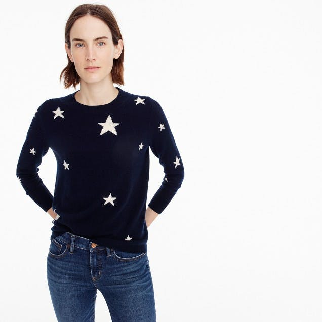 best things to buy at jcrew star sweater