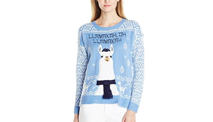 blizzaard bay ugly hannukah christmas holiday sweater