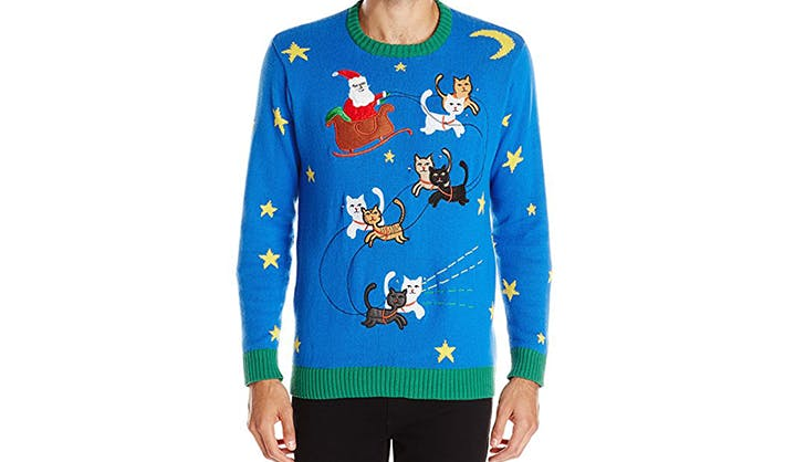 blizzard bay light up ugly christmas sweater