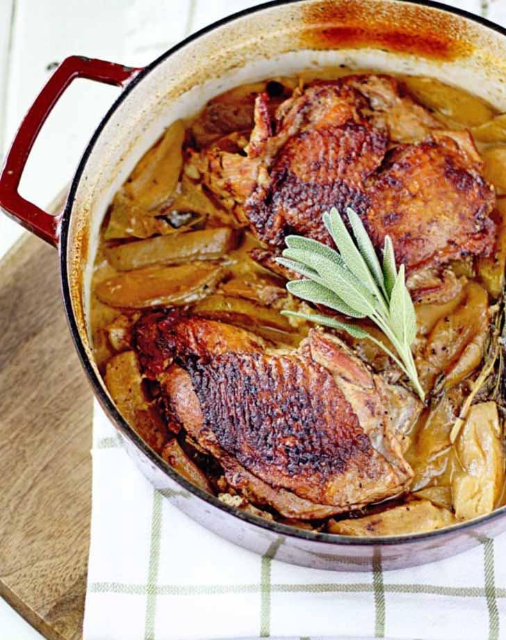 braised turkey thighs 924