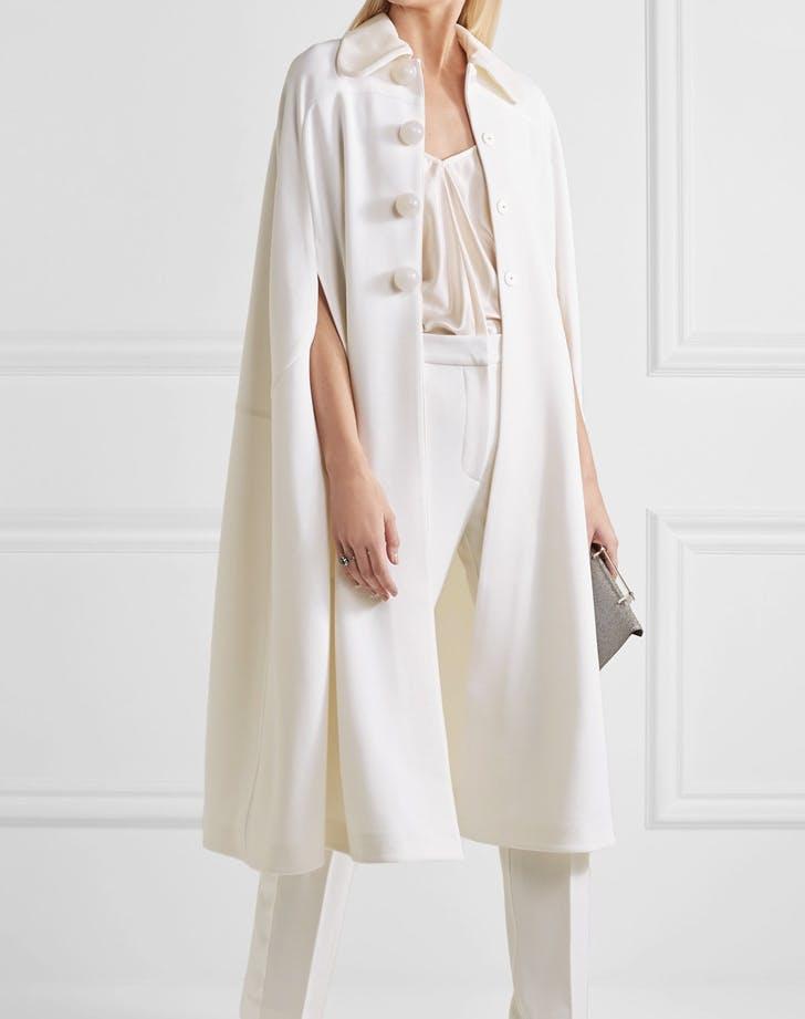 bridal cape cropped pants LIST