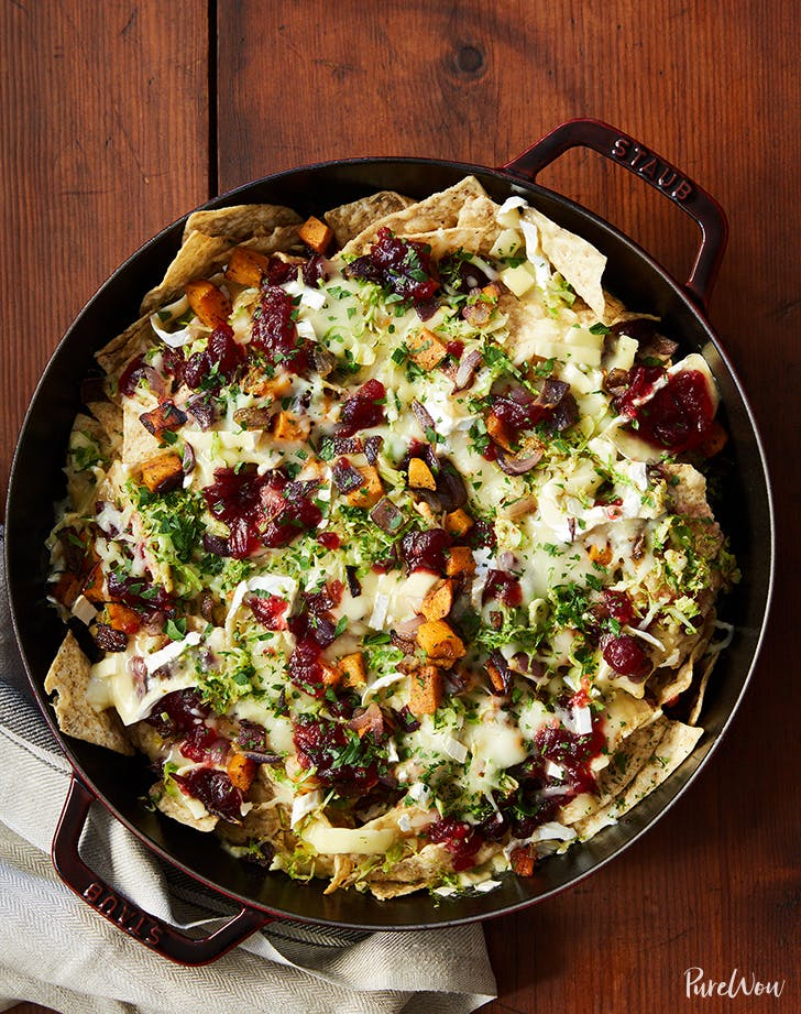 brussels sprouts brie nachos