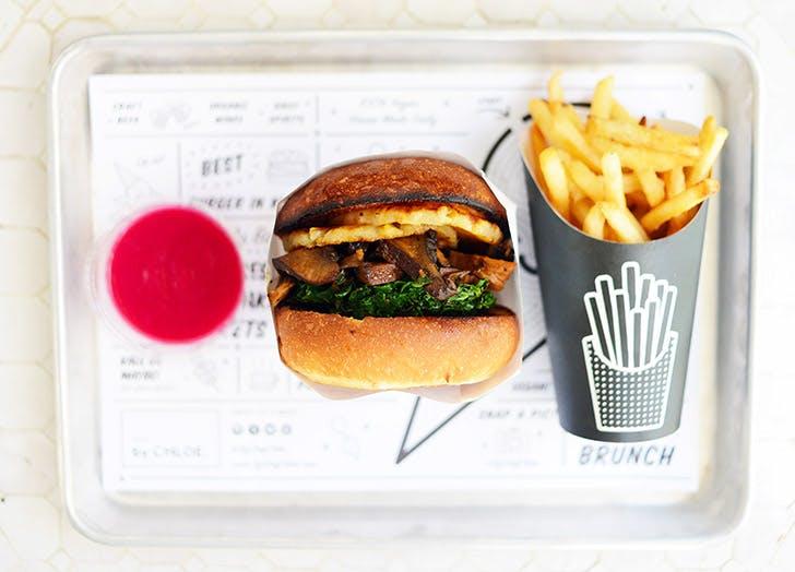 by chloe veggie burger NY