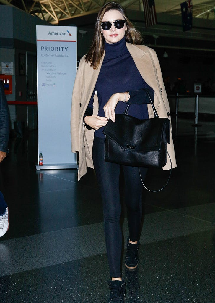 celebrity travel style miranda kerr