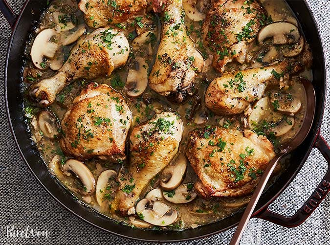 cheaters white wine coq au vin december recipe 501