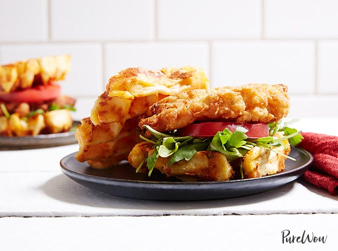 chicken and waffles sandwich recipe 501