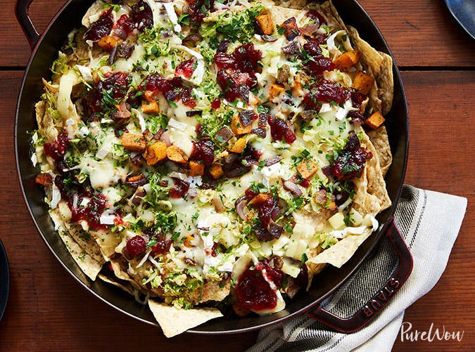 cranberry sauce brussels sprouts nachos