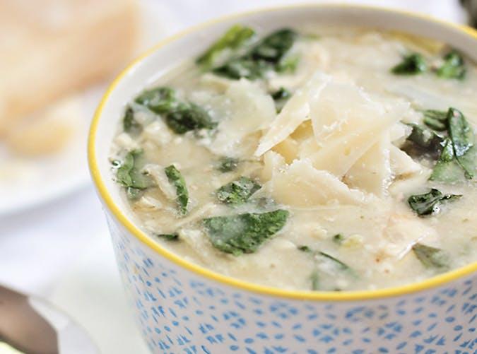 creamy spinach artichoke soup 501