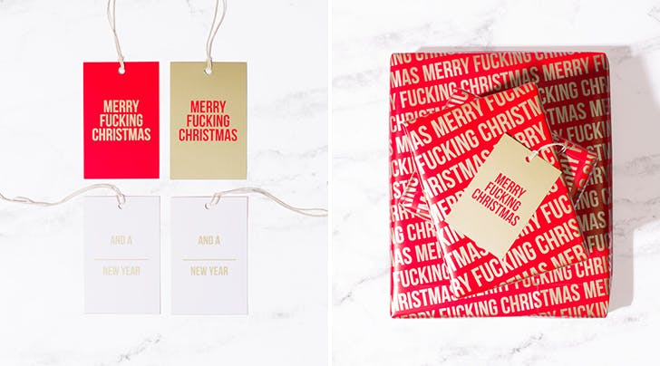 Cursing Mommies, This NSFW Wrapping Paper Is Just for You